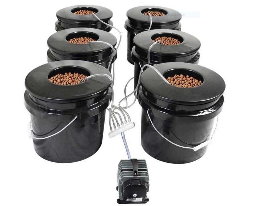 Bubbler Hydroponics System
